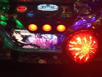 パチスロ地獄少女宵伽 ボーナス終了画面 「ラッキーパトランプ赤」点灯で設定4以上確定!?
