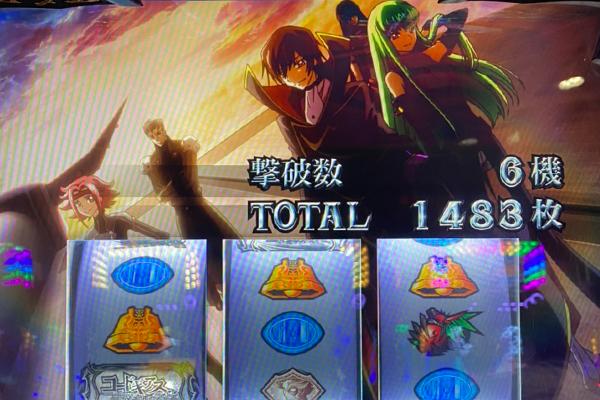 パチスロコードギアス 反逆のルルーシュR2 黒の騎士団出現