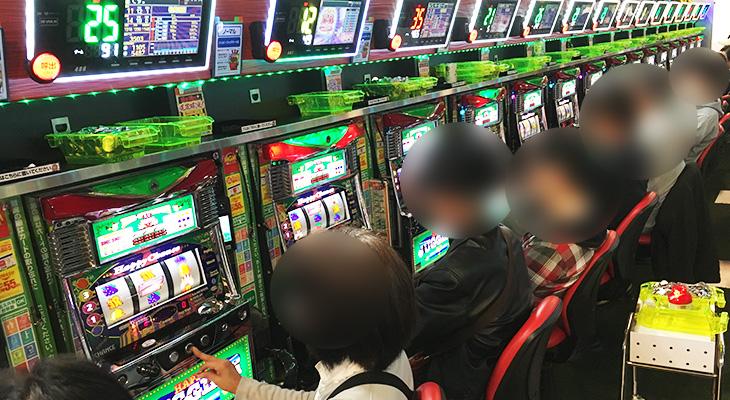 MGM水戸店10月16日ハッピージャグラーVⅡ【20台】