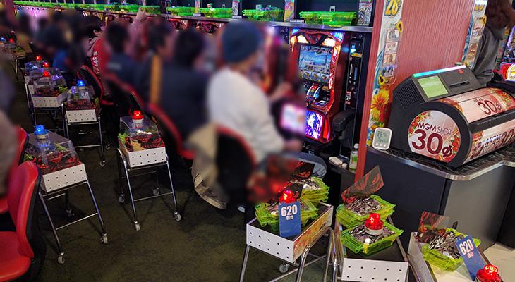 MGM水戸店のバジリスク~甲賀忍法帖~絆2月16日