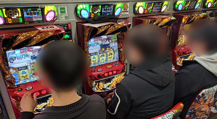 フルハウス中延店の盗忍!剛衛門2月25日