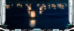 蒼穹のファフナーEXODUSの灯篭流しステージ