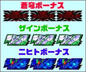 蒼穹のファフナーEXODUSのAT中のボーナス一覧の画像