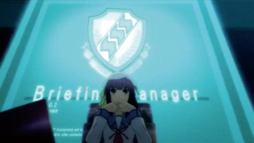 パチスロAngel Beats!の作戦準備中ステージの画面