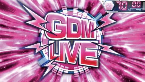 パチスロAngel Beats!のチャンスステージ「GDM LIVE」