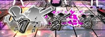 パチスロAngel Beats!の押し順ナビ(黒)