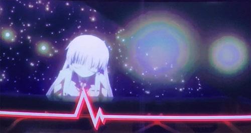 パチスロAngel Beats!のリールロック2段階目の画像