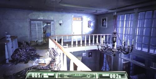 パチスロ バイオハザード7 レジデント イービルの本館