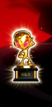 パチスロコードギアス反逆のルルーシュ3のサミートロフィー(ゴールド)