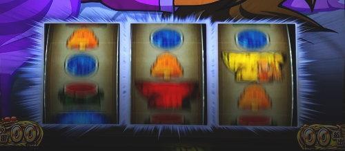もっと!クレアの秘宝伝 女神の歌声と太陽の子供達の枠フラッシュ発生時の画面
