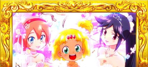 もっと!クレアの秘宝伝 女神の歌声と太陽の子供達の「ウエディングドレス」1枚絵