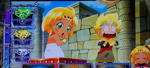 もっと!クレアの秘宝伝 女神の歌声と太陽の子供達のいいねボタンPUSH画面