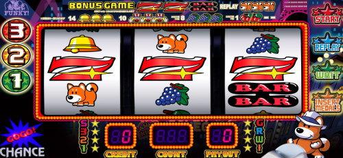 ファンキージャグラー2のボーナススタートのイメージ画像