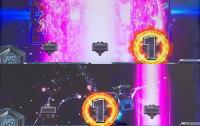 カードバトルパチスロ ガンダム クロスオーバーのビームエフェクト画像