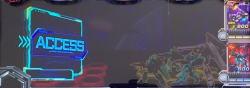 カードバトルパチスロ ガンダム クロスオーバーの通信予告発生の画像