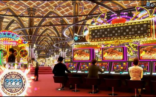 ハイパーブラックジャックのカジノステージ