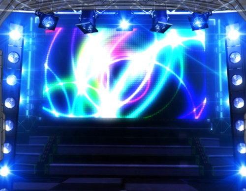 パチスロ アイドルマスター ミリオンライブ!のステージ(青)の画面