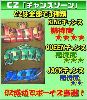 キングオブジャックのチャンスゾーンの画像