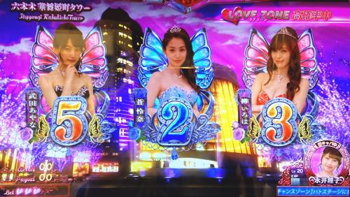 パチスロラブ嬢2プラスの華舞姫町ステージ