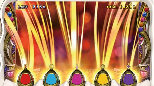 SLOT劇場版 魔法少女まどか☆マギカ[前編]始まりの物語/[後編]永遠の物語のマギカアタック1G目の画面
