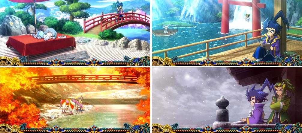 政宗3の通常ステージ(春夏秋冬ステージ)の画像