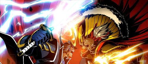 政宗3の終了画面「政宗vs秀吉」の画像