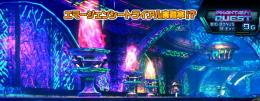 パチスロ ファンタシースターオンライン2の海底ステージ