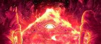 ピラミッドアイのステージ赤