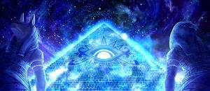 ピラミッドアイの液晶ステージ