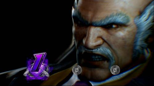 パチスロ鉄拳4デビルVer.の紫ナビ