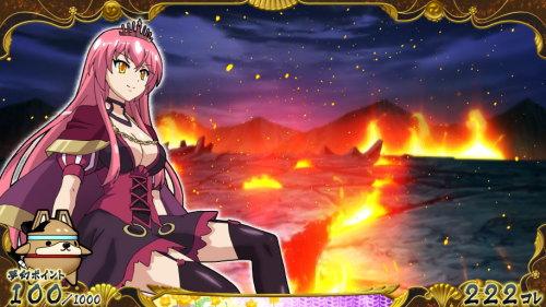 【戦コレ4】戦国コレクション4の火山ステージ