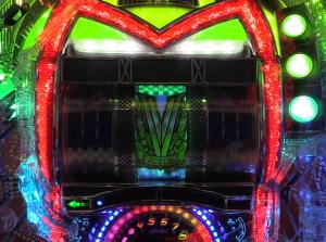 パチンコCRマッハGoGoGo GP7000の全回転リーチの画像