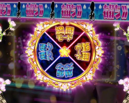 パチンコぱちんこ AKB48 桜 LIGHT ver.のルーレットの組み合わせ画像