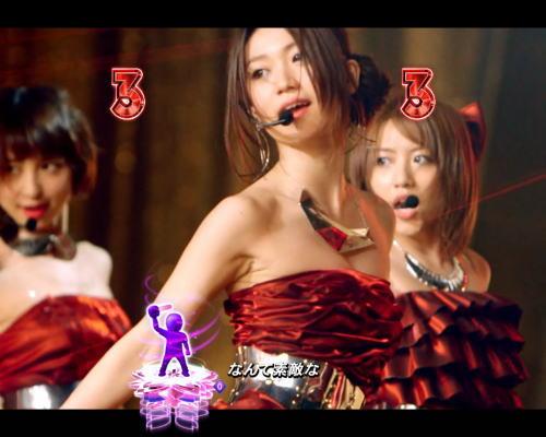 パチンコぱちんこ AKB48 桜 LIGHT ver.の熱狂超絶SPリーチ画像