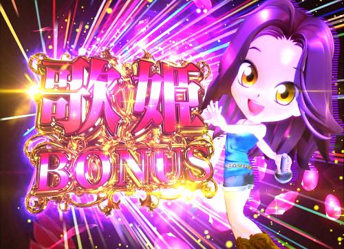 パチンコP中森明菜・歌姫伝説~THE BEST LEGEND~の歌姫BONUSの画像