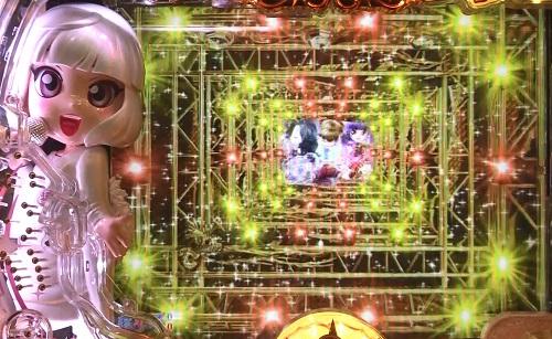 パチンコP中森明菜・歌姫伝説~THE BEST LEGEND~の開始時ウェイクアップ予告の画像