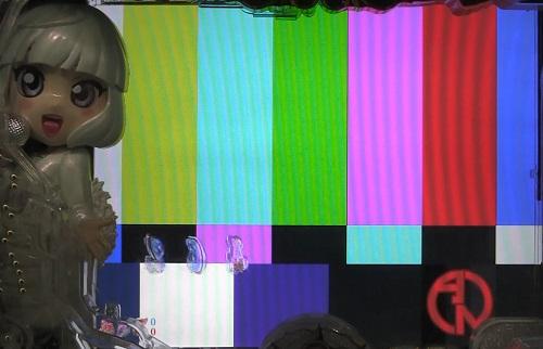 パチンコP中森明菜・歌姫伝説~THE BEST LEGEND~のフリーズカーテン予告の画像
