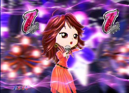 パチンコP中森明菜・歌姫伝説~THE BEST LEGEND~1/99verのミ・アモーレの画像