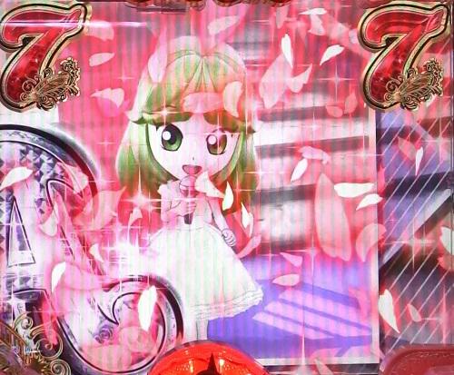 パチンコP中森明菜・歌姫伝説~THE BEST LEGEND~1/99verのスローモーション花びらの画像