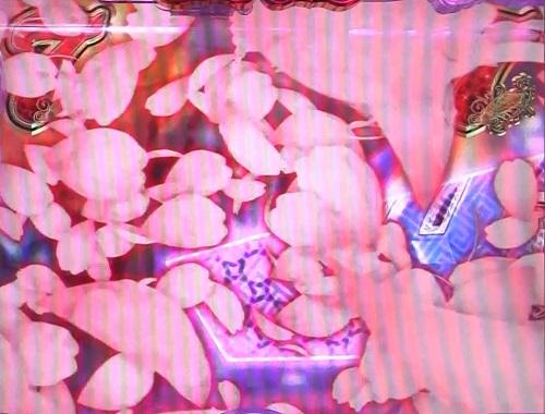 パチンコP中森明菜・歌姫伝説~THE BEST LEGEND~1/99verの桜吹雪赤の画像