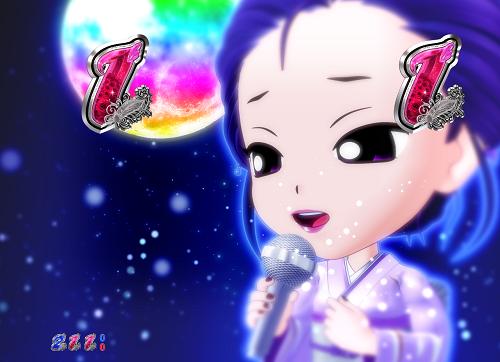 パチンコP中森明菜・歌姫伝説~THE BEST LEGEND~1/99verの難破船SP月色の画像