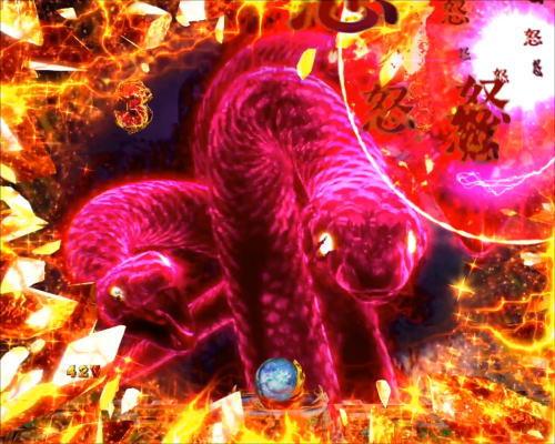 パチンコPアナザーゴッドポセイドン-怒濤の神撃-のメドゥーサEXSP