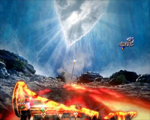 パチンコPアナザーゴッドポセイドン-怒濤の神撃-の三叉の矛予告