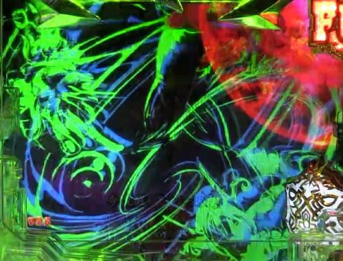 パチンコPアナザーゴッドポセイドン-怒濤の神撃-のキャラフラッシュ