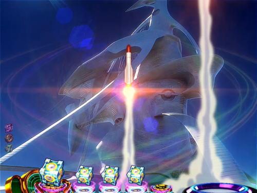 パチンコP交響詩篇エウレカセブン HI-EVOLUTION ZEROのミサイル爆破予告