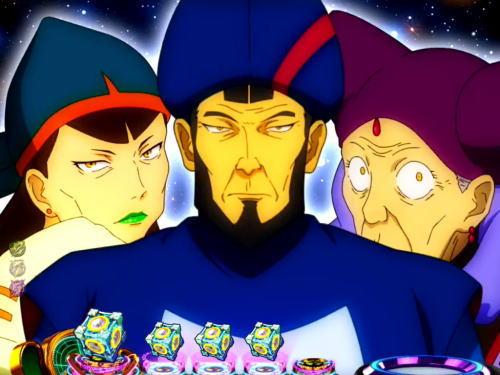 パチンコP交響詩篇エウレカセブン HI-EVOLUTION ZEROの三賢人予告