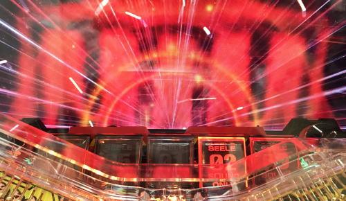 パチンコ新世紀エヴァンゲリオン 決戦 ~真紅~のモノリス発光時の画像