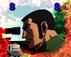 パチンコPフィーバーゴルゴ13疾風マシンガンver.のスパイ狙撃画像
