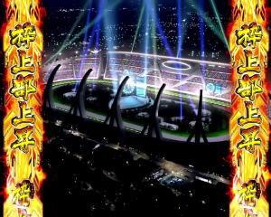 P GⅠDREAMROADの夜の競馬場の画像