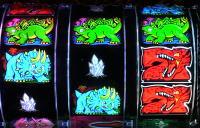 Pガオガオキング3の怪獣図柄の画像